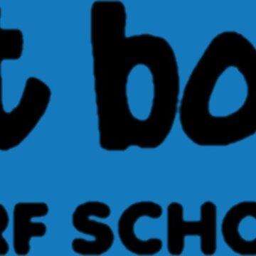 Fat Boys Surf School by benj44