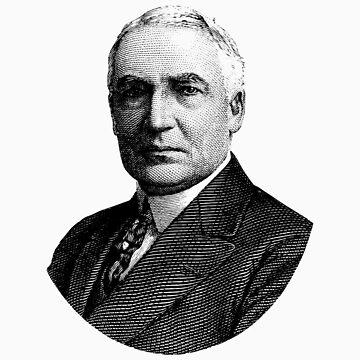 Presidente Warren G. Harding de warishellstore