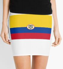 Naval Ensign of Colombia  Mini Skirt