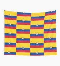 Naval Ensign of Colombia  Wall Tapestry