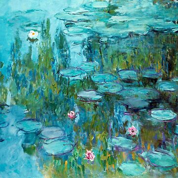 Claude Monet - Water Lilies - Nympheas by NewNomads