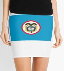 Naval Jack of Colombia Mini Skirt