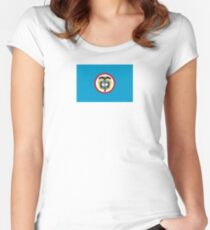 Naval Jack of Colombia Women's Fitted Scoop T-Shirt