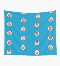 Naval Jack of Colombia Wall Tapestry