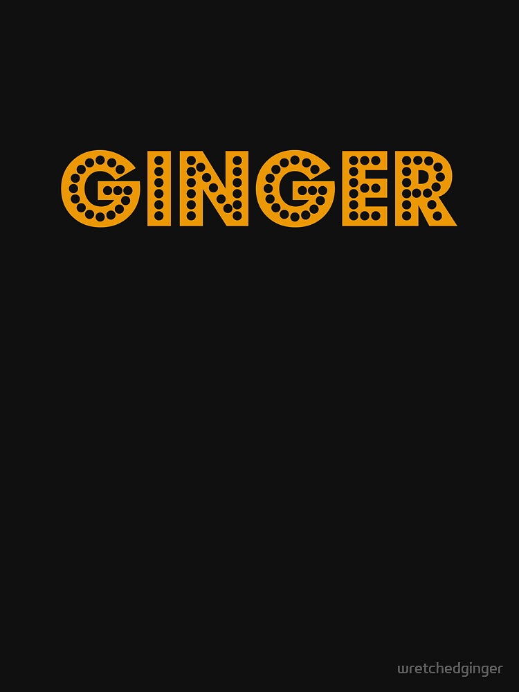 Disco Ginger by wretchedginger