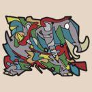 Warp Elephant by MuscularTeeth
