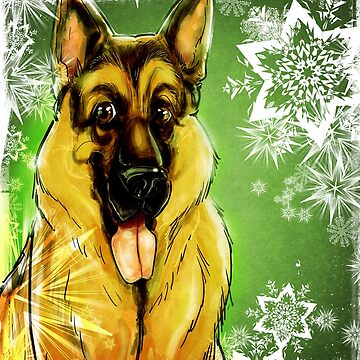 Doggy time Xmas time by ceciliamart