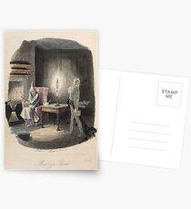 Christmas Carol - Marley's Ghost Postcards