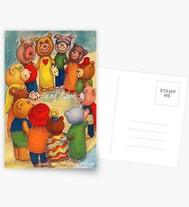 Celebrating our Differences, Circle of Love and Unity Multicultural Postcards
