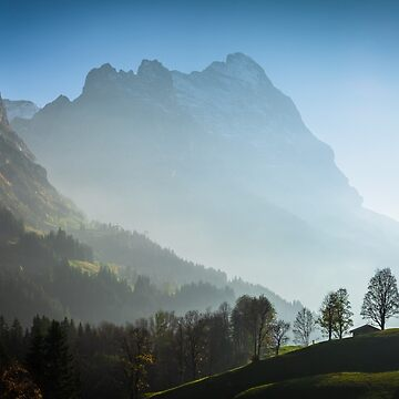 Eiger in autumn, Grindelwald, Switzerland by mhowellsmead