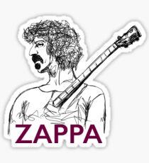 Frank Zappa sketch  Sticker