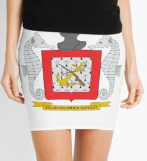 Coat of Arms of Colombian Naval Infantry Mini Skirt