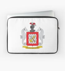Coat of Arms of Colombian Naval Infantry Laptop Sleeve