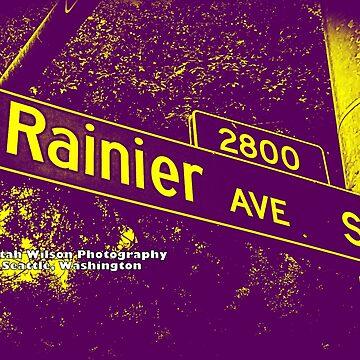 Rainier Avenue South Purple & Gold Seattle Washington by Mistah Wilson Photography by MistahWilson