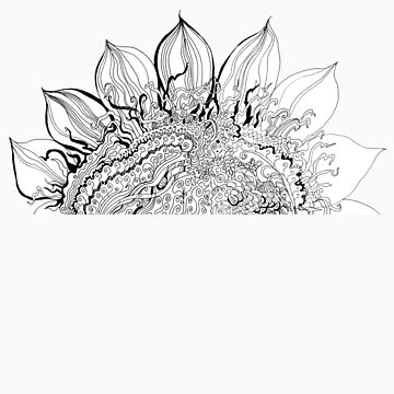 Sunflower by Mikhalevich
