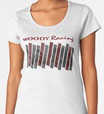 Woody Racing Bike + Car Women's Premium T-Shirt