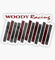 Woody Racing Bike + Car Sticker