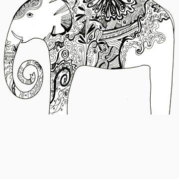 Elephant by Mikhalevich