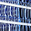 Blue cities.  Glass Way by Masha-Gr