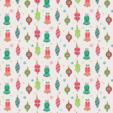 Bells and ornaments by peggieprints