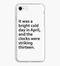 1984 iPhone Case/Skin