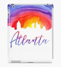 Atlanta Cityscape - Reverse Silhouette iPad Case/Skin