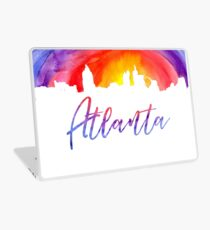 Atlanta Cityscape - Reverse Silhouette Laptop Skin