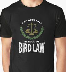 Philadelphia School Of Bird Law Graphic T-Shirt