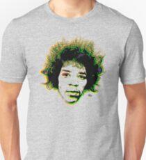 Psychedelic guitar god Unisex T-Shirt