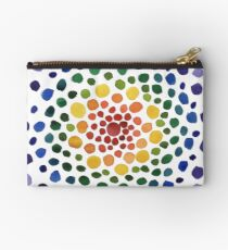 Circle Mosaic - Rainbow Studio Pouch