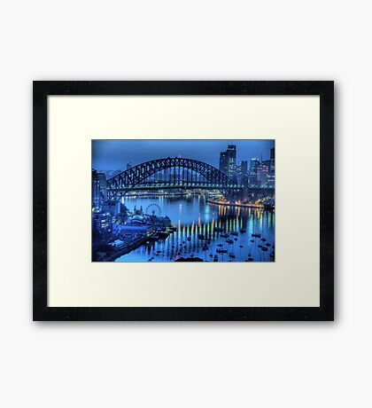 Twilight - Moods Of A City - The HDR Experience Framed Print