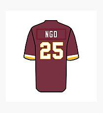 Custom Ngo Redskins Photographic Print