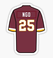 Custom Ngo Redskins Sticker