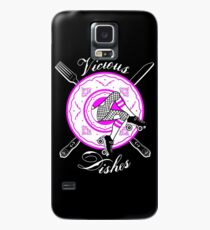 Vicious Dishes, Roller Derby, Black Background Case/Skin for Samsung Galaxy