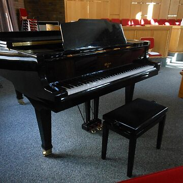 Sunderland Grand Piano by kathrynsgallery