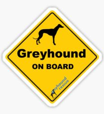 Greyhound On Board Sticker