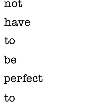 Life does not have to be perfect to be wonderful by michaelroman