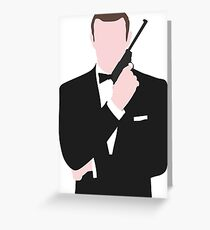 Bond, James Bond Greeting Card