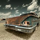 Abandoned 1958 Chevy Bel Air - 1 by mal-photography