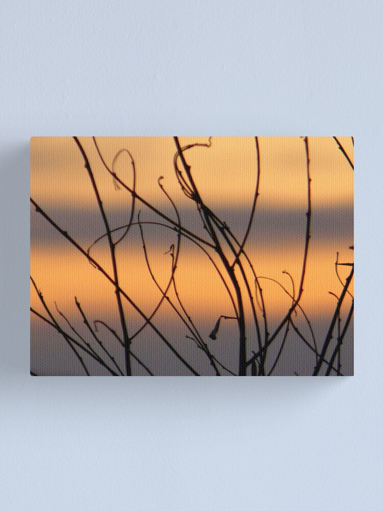 Alternate view of Sunset Strips Canvas Print