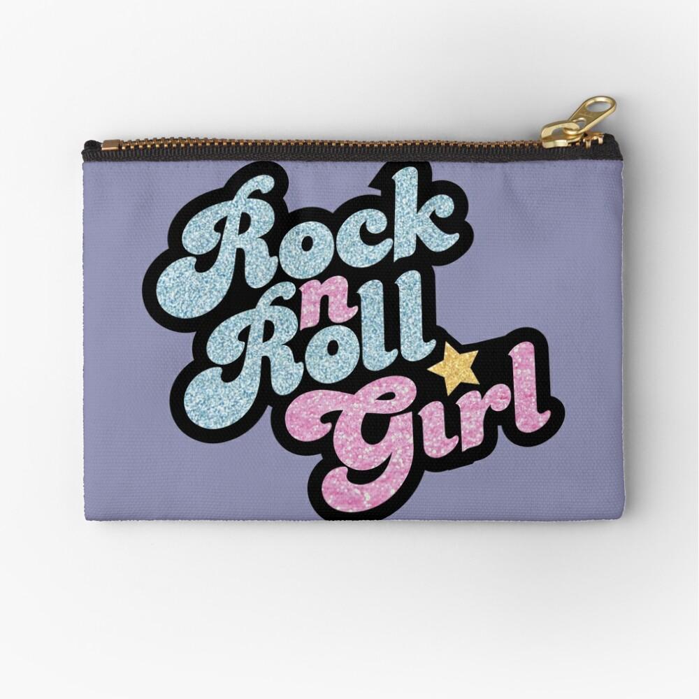 Rock n' Roll Girl Zipper Pouch