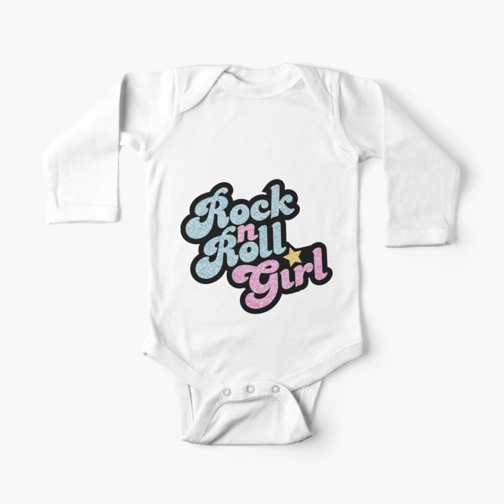 Rock n' Roll Girl Baby One-Piece