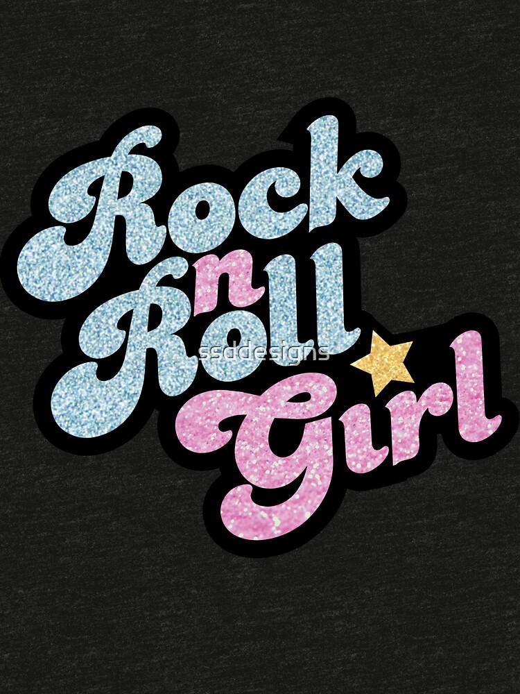Rock n' Roll Girl by ssddesigns