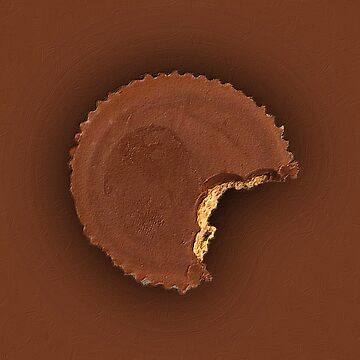 Chocolate Peanut Butter Cup Candy by RubinoCreative