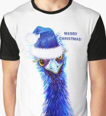 Christmas Emu Graphic T-Shirt