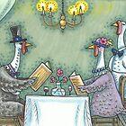 FINE DINING by Susan Brack