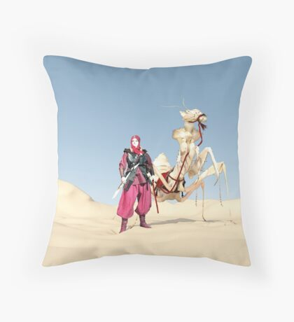 The dromedary Throw Pillow