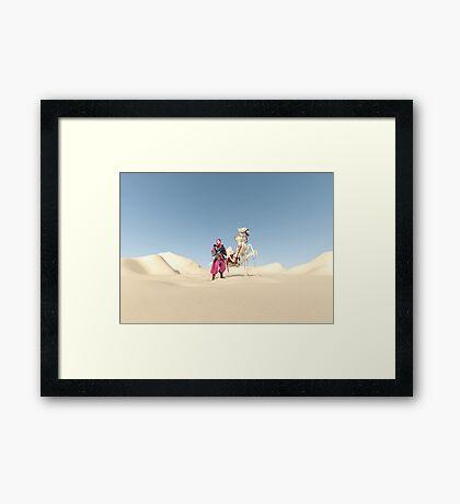 The dromedary Framed Print
