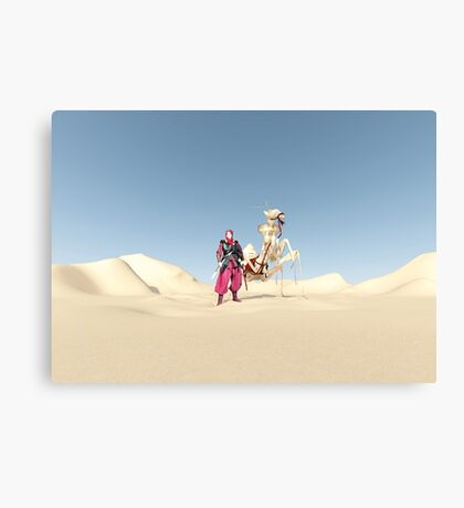 The dromedary Canvas Print