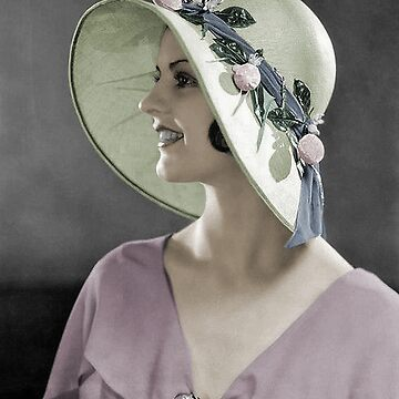 1920s Spring Hat by princessbunhead